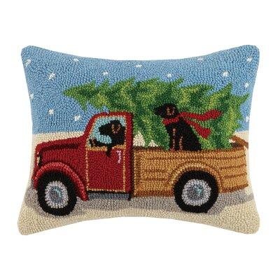 Truck Hook Wool Lumbar Pillow