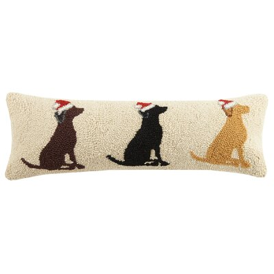 Santa Labs Wool Lumbar Pillow