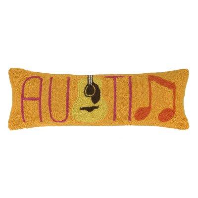 Nappi Texas Cities Wool Lumbar Pillow