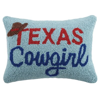 Bickford Texas Cowgirl Wool Lumbar Pillow