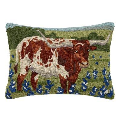 Hinde Longhorn Wool Lumbar Pillow
