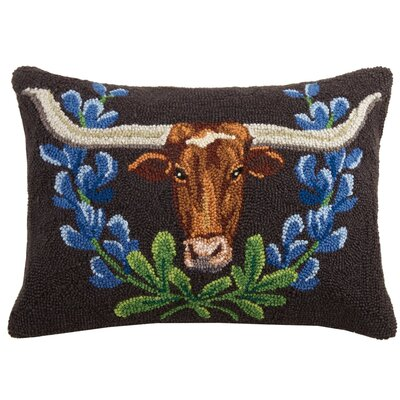 Skinner Longhorn Wool Lumbar Pillow