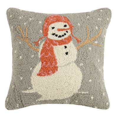 Holiday Wool Throw Pillow