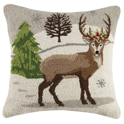 Bayewitch Winter Wonderland Wool Throw Pillow