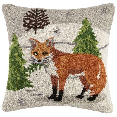 Podolsky Winter Wonderland Wool Throw Pillow