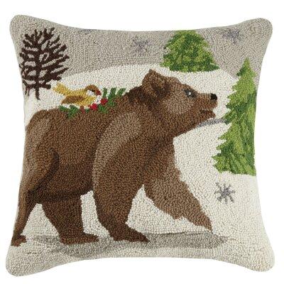 Cianchette Winter Wonderland Wool Throw Pillow