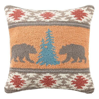 Rhee Kilim Wool Throw Pillow