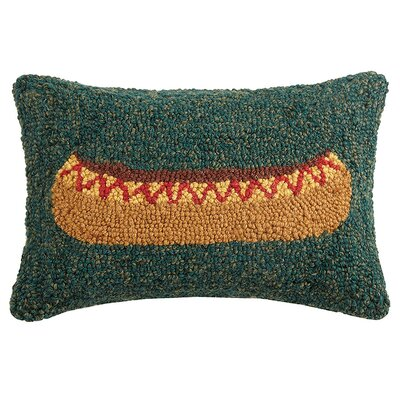 Quinerly Canoe Wool Lumbar Pillow