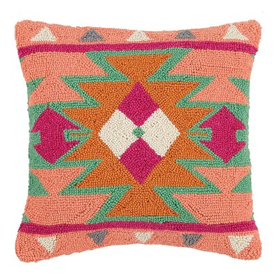 Bullington New Festival and Kilim Wool Hook Throw Pillow