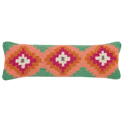 Brownfield New Festival Kilim Wool Hook Lumbar Pillow