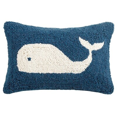 Longview Whale Wool Lumbar Pillow