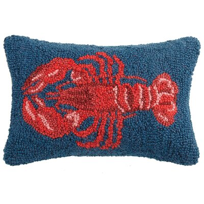 Ridgeview Lobster Wool Lumbar Pillow