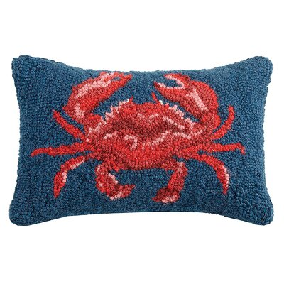 Downey Crab Wool Lumbar Pillow