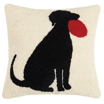 Pillion I Love My Dog Wool Throw Pillow