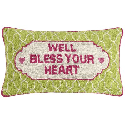 Kalie Southern Belle Wool Lumbar Pillow