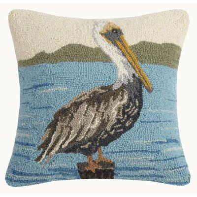 Buccigross Pelican Wool Throw Pillow