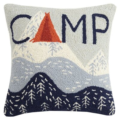 Uvanovic Happy Hiking Wool Throw Pillow