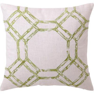 Bamboo Print Throw Pillow