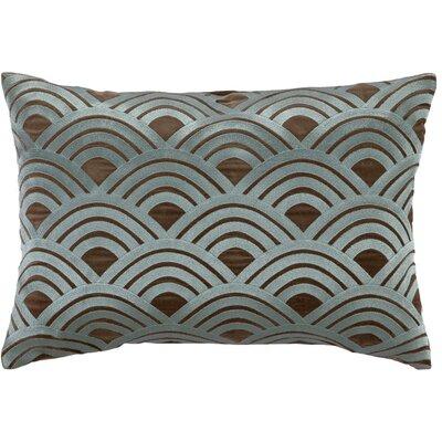 Quincy Lumbar Pillow Color: Blue