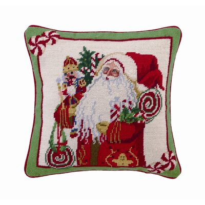 Lolly Jolly Christmas Decorative Pillow