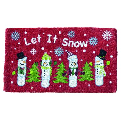Let it Snow Utility Mat