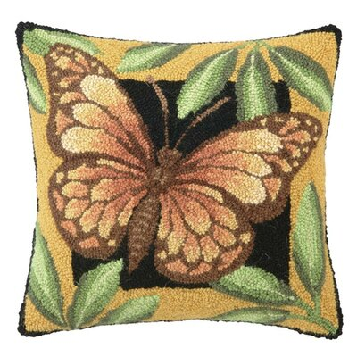 Borboleta Wool Throw Pillow