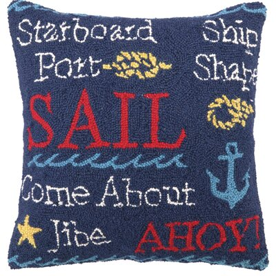 Sail I Throw Pillow Cover