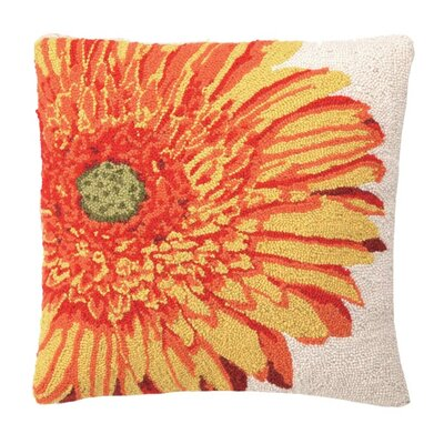 Gerbera Wool Throw Pillow