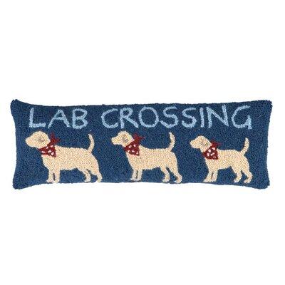 Lab Crossing Lumbar Pillow