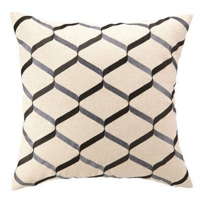 D.L. Rhein Nona Linen Throw Pillow Color: Graphite