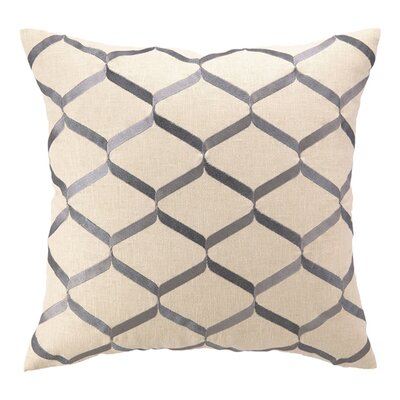 D.L. Rhein Nona Linen Throw Pillow Color: Lilac