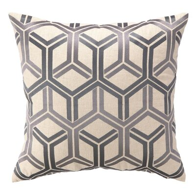 D.L. Rhein Shannon Linen Throw Pillow Color: Lilac