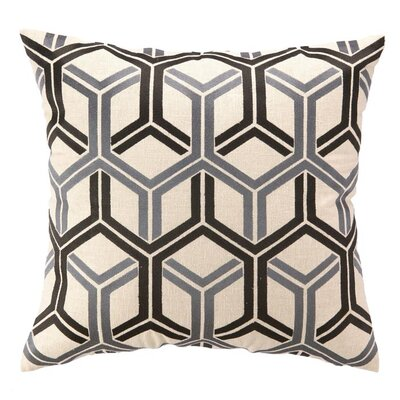 D.L. Rhein Shannon Linen Throw Pillow Color: Graphite