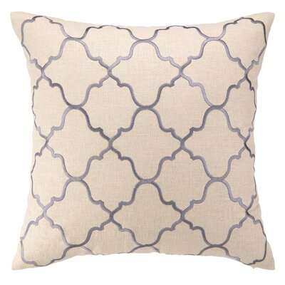 D.L. Rhein Moroccan Tile Linen Throw Pillow