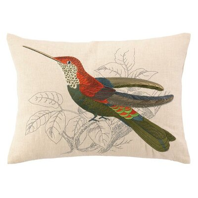 Hummingbird II Lumbar Pillow