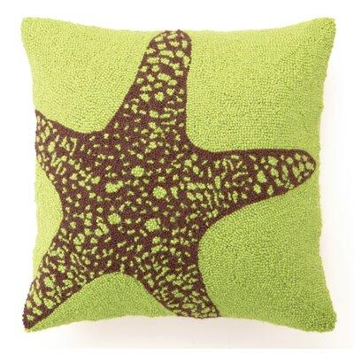 Big Starfish Wool Throw Pillow
