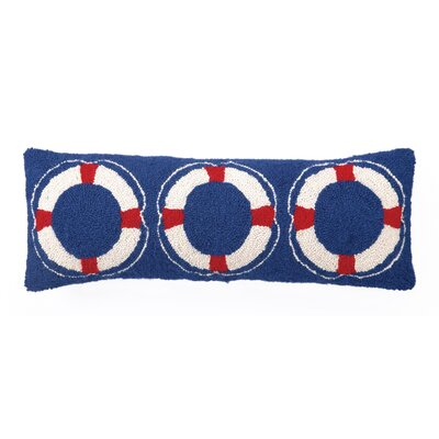 Nautical Wool Lumbar Pillow