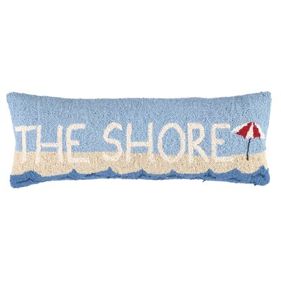 The Shore Wool Lumbar Pillow