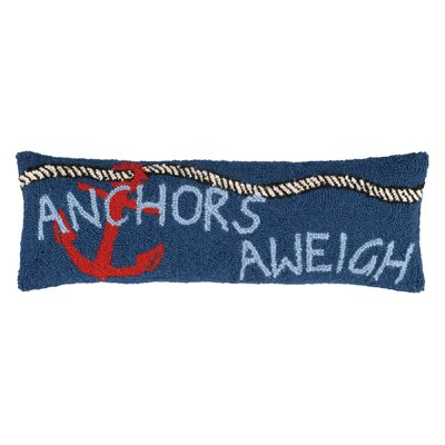 Anchor Aweigh Wool Lumbar Pillow