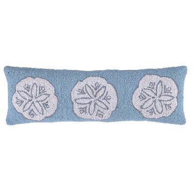 Sand Dollar Wool Lumbar Pillow