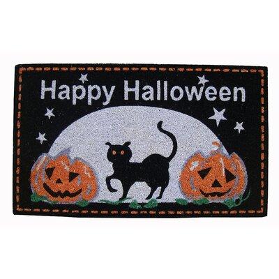 Happy Halloween Coir Doormat