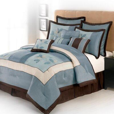 get samantha 4 piece comforter set size