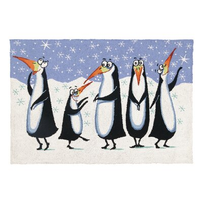 Penguins Rug Rug Size: 23 x 34