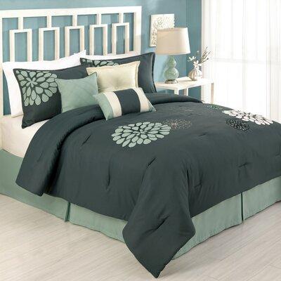 Modern Heirloom Felicity 7 Piece Comforter Set Size: California King