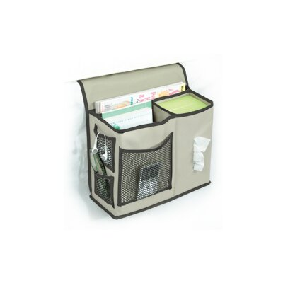 Gearbox Bedside Caddy Color: Khaki and Black