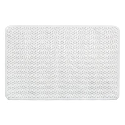 Vinyl Non-Slip Lattice Design Shower Mat with Ultra Secure Suction Cups HC-200178