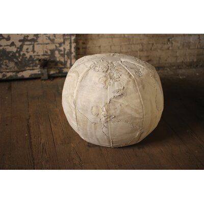 Purchase Bayaud Recycled Canvas Globe Pouf Ottoman - Image - 260