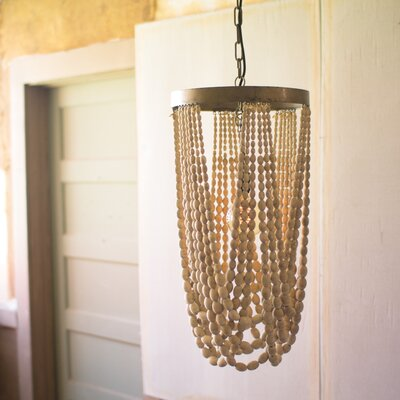 Apsley Draping Wooden Foyer Pendant