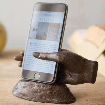 Cast Iron Hand Smart Phone Holder accessory