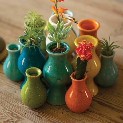 Ceramic 13 Piece Table Vase Set